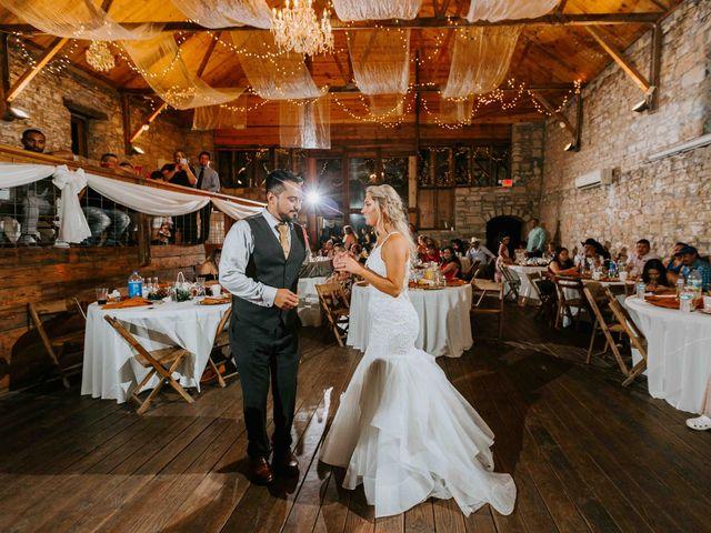 Stephanie and Rene's Wedding in Winfield, Kansas 35