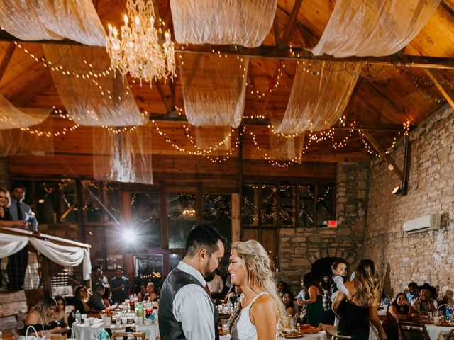 Stephanie and Rene's Wedding in Winfield, Kansas 36