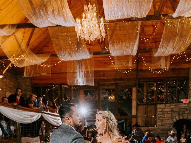 Stephanie and Rene's Wedding in Winfield, Kansas 41
