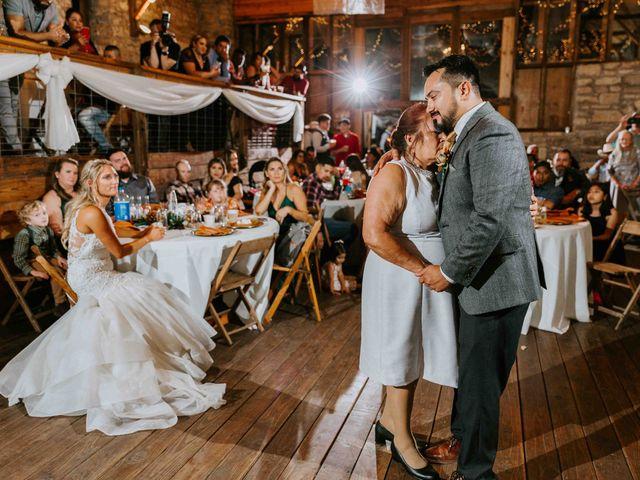 Stephanie and Rene's Wedding in Winfield, Kansas 47
