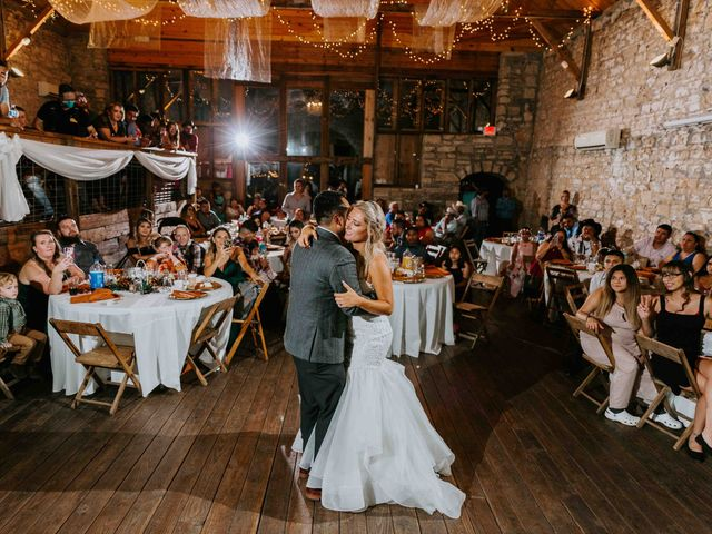 Stephanie and Rene's Wedding in Winfield, Kansas 59