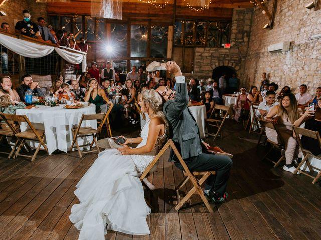 Stephanie and Rene's Wedding in Winfield, Kansas 69