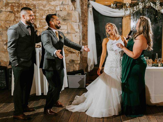 Stephanie and Rene's Wedding in Winfield, Kansas 77