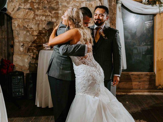 Stephanie and Rene's Wedding in Winfield, Kansas 79