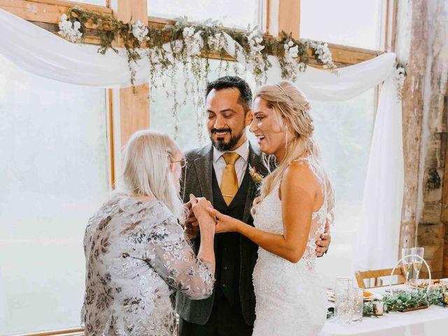 Stephanie and Rene's Wedding in Winfield, Kansas 86