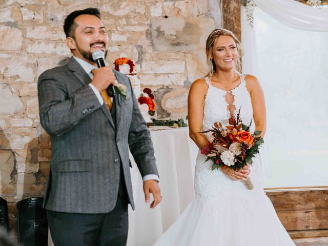 Stephanie and Rene's Wedding in Winfield, Kansas 91