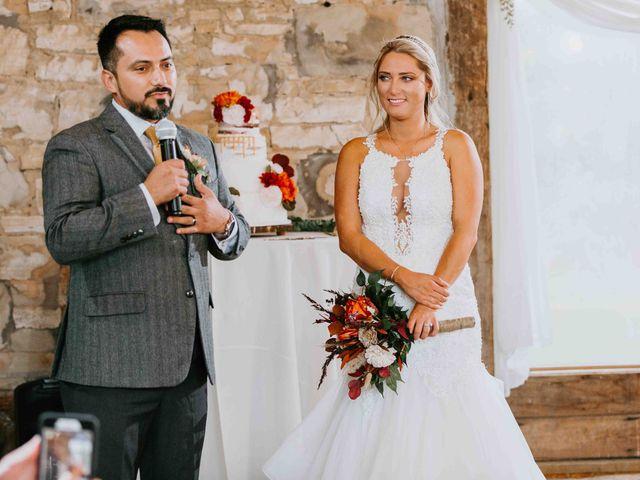 Stephanie and Rene's Wedding in Winfield, Kansas 94