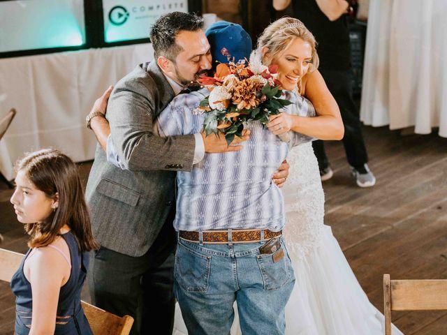 Stephanie and Rene's Wedding in Winfield, Kansas 98