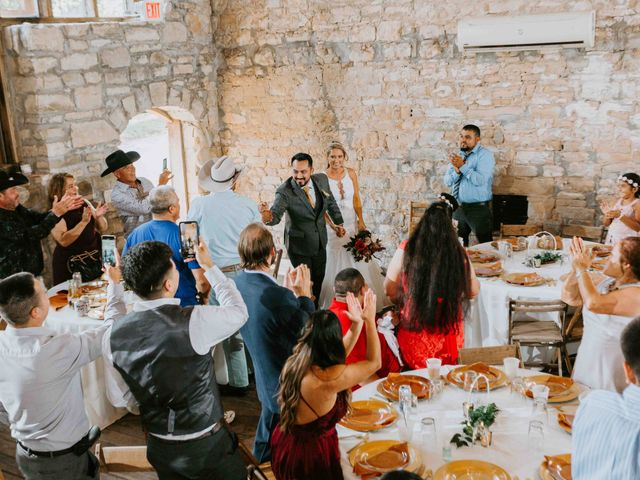 Stephanie and Rene's Wedding in Winfield, Kansas 102