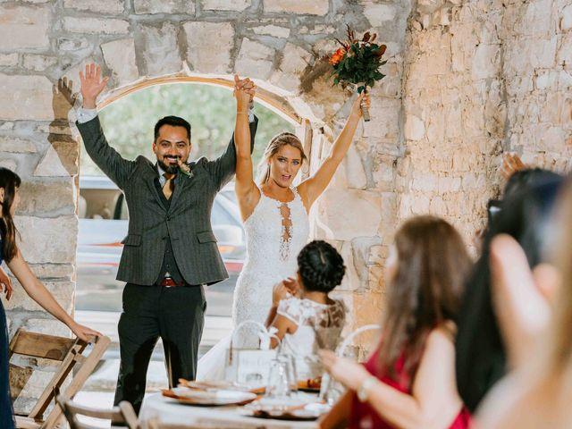 Stephanie and Rene's Wedding in Winfield, Kansas 103