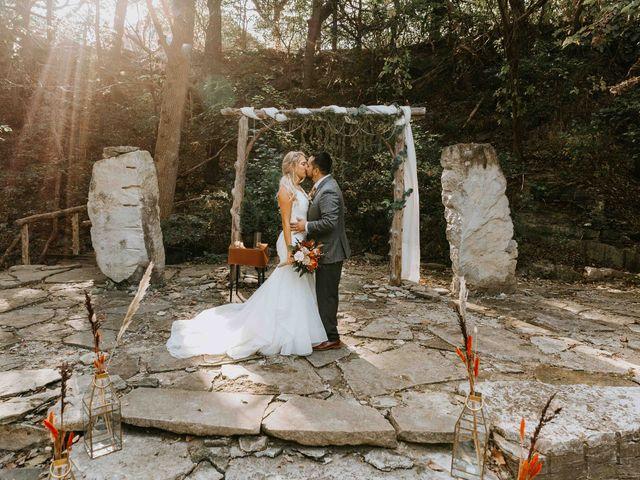 Stephanie and Rene's Wedding in Winfield, Kansas 121