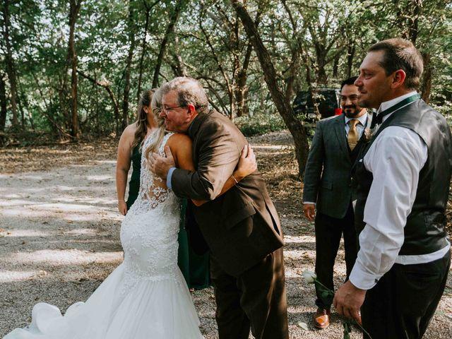 Stephanie and Rene's Wedding in Winfield, Kansas 123