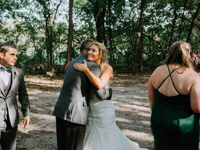 Stephanie and Rene's Wedding in Winfield, Kansas 124