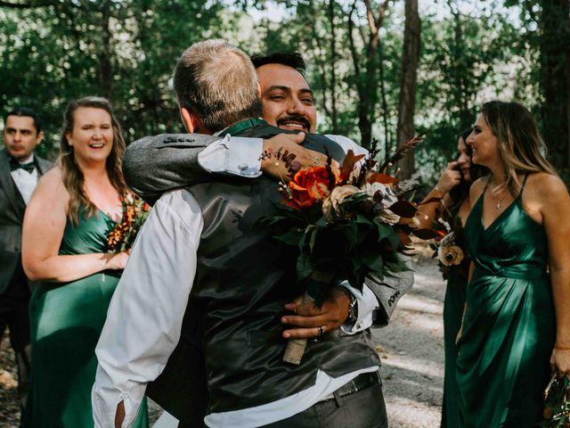 Stephanie and Rene's Wedding in Winfield, Kansas 125