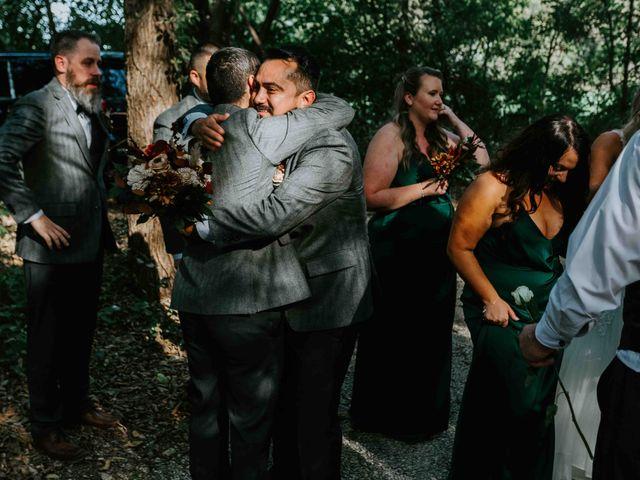 Stephanie and Rene's Wedding in Winfield, Kansas 126