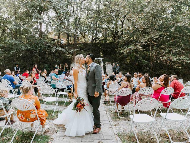 Stephanie and Rene's Wedding in Winfield, Kansas 128