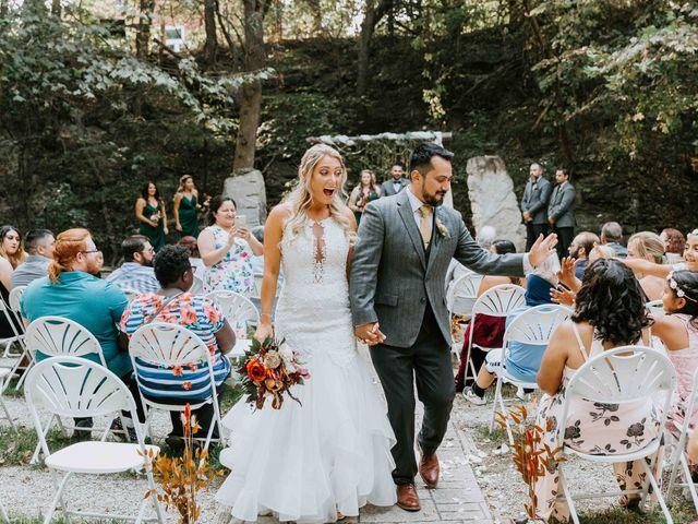Stephanie and Rene's Wedding in Winfield, Kansas 129
