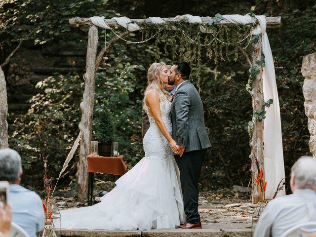 Stephanie and Rene's Wedding in Winfield, Kansas 130