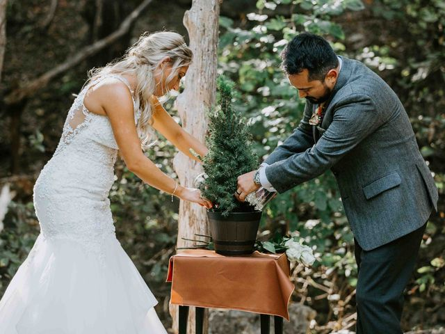 Stephanie and Rene's Wedding in Winfield, Kansas 136