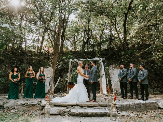 Stephanie and Rene's Wedding in Winfield, Kansas 140