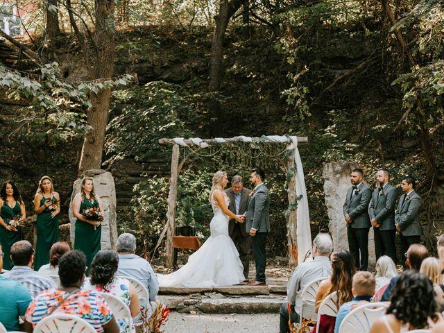 Stephanie and Rene's Wedding in Winfield, Kansas 146