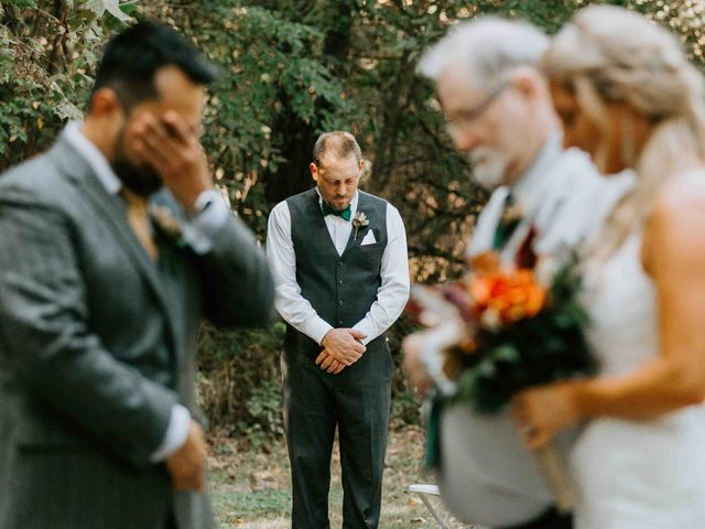 Stephanie and Rene's Wedding in Winfield, Kansas 152