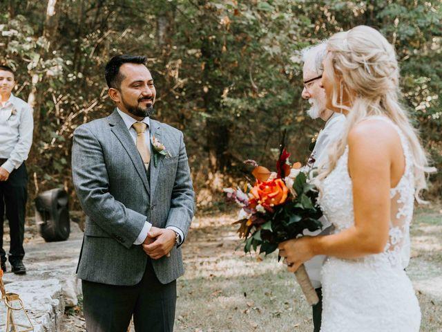 Stephanie and Rene's Wedding in Winfield, Kansas 155