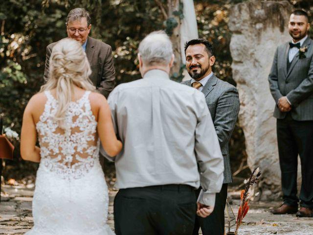 Stephanie and Rene's Wedding in Winfield, Kansas 156
