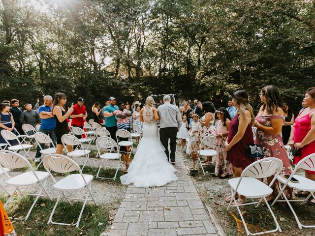 Stephanie and Rene's Wedding in Winfield, Kansas 158