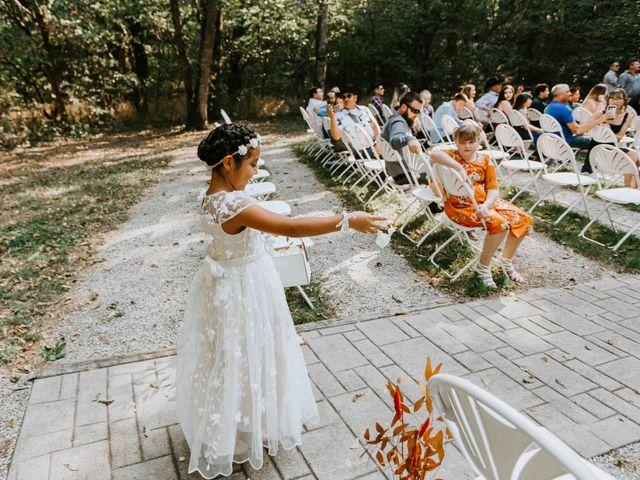 Stephanie and Rene's Wedding in Winfield, Kansas 161
