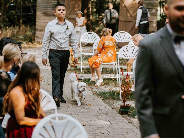 Stephanie and Rene's Wedding in Winfield, Kansas 162