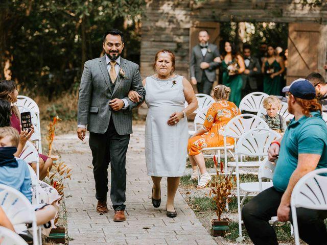 Stephanie and Rene's Wedding in Winfield, Kansas 164
