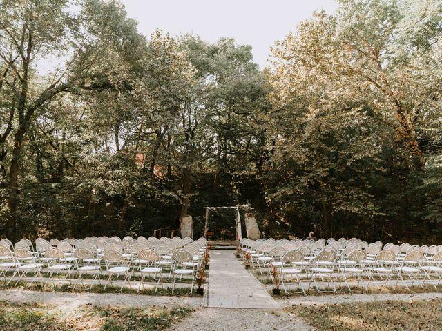 Stephanie and Rene's Wedding in Winfield, Kansas 170