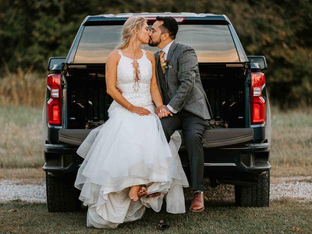 Stephanie and Rene's Wedding in Winfield, Kansas 185