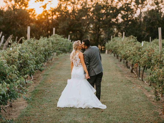 Stephanie and Rene's Wedding in Winfield, Kansas 186