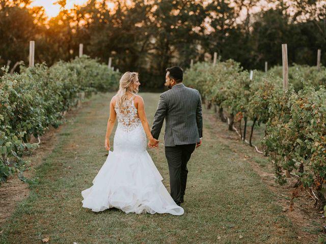 Stephanie and Rene's Wedding in Winfield, Kansas 187