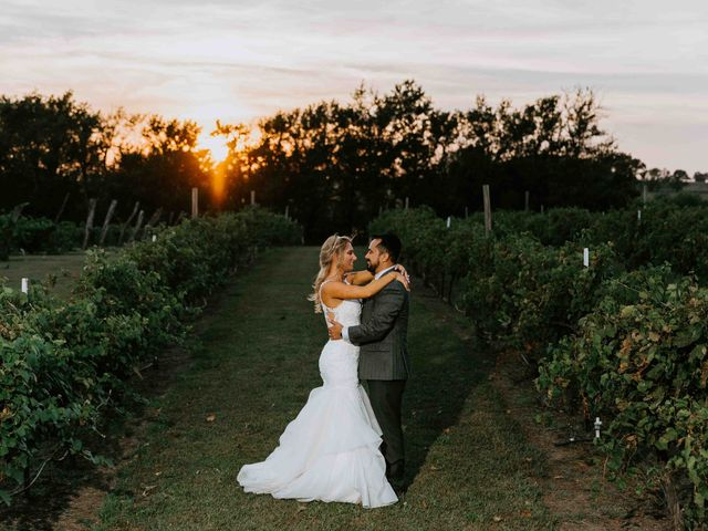 Stephanie and Rene's Wedding in Winfield, Kansas 188