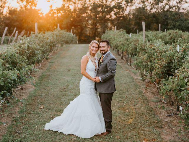 Stephanie and Rene's Wedding in Winfield, Kansas 189