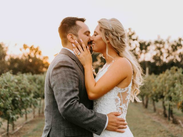 Stephanie and Rene's Wedding in Winfield, Kansas 192