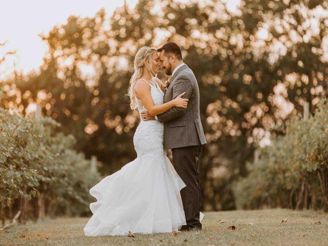 Stephanie and Rene's Wedding in Winfield, Kansas 1