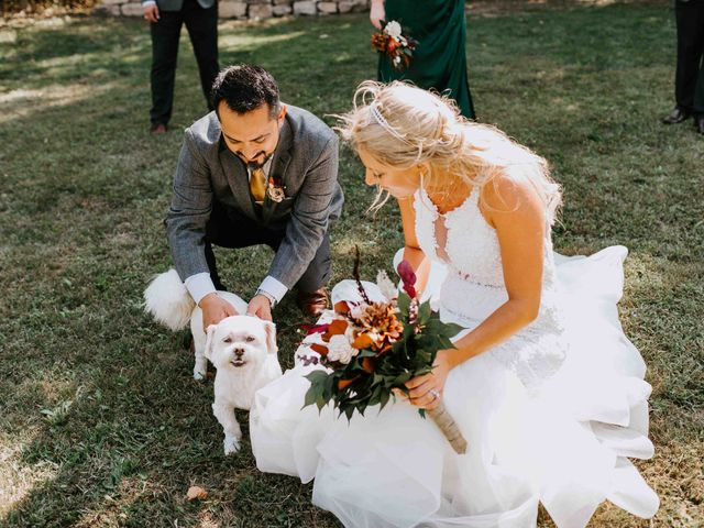 Stephanie and Rene's Wedding in Winfield, Kansas 193