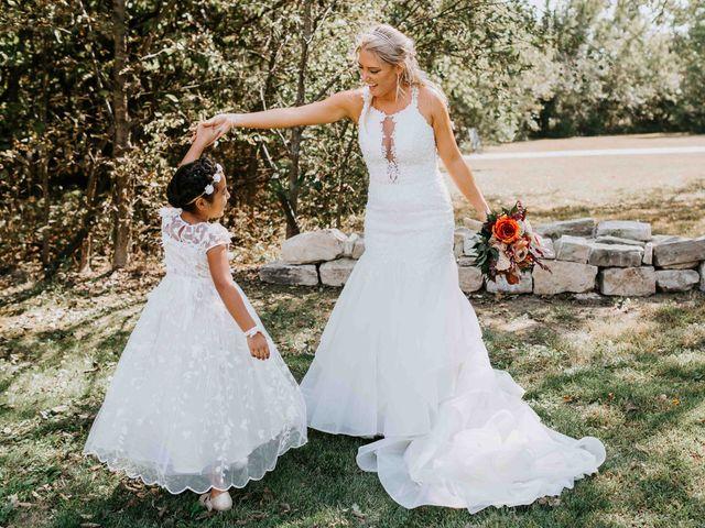 Stephanie and Rene's Wedding in Winfield, Kansas 199