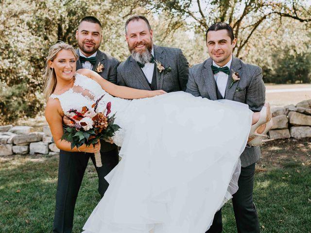 Stephanie and Rene's Wedding in Winfield, Kansas 203