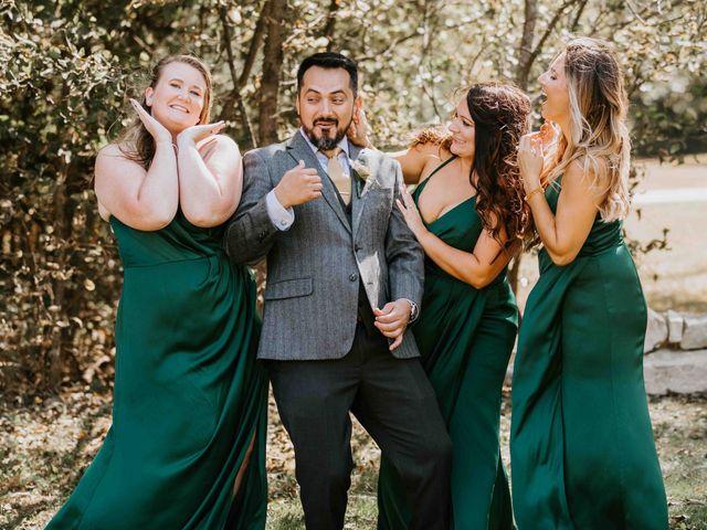 Stephanie and Rene's Wedding in Winfield, Kansas 204