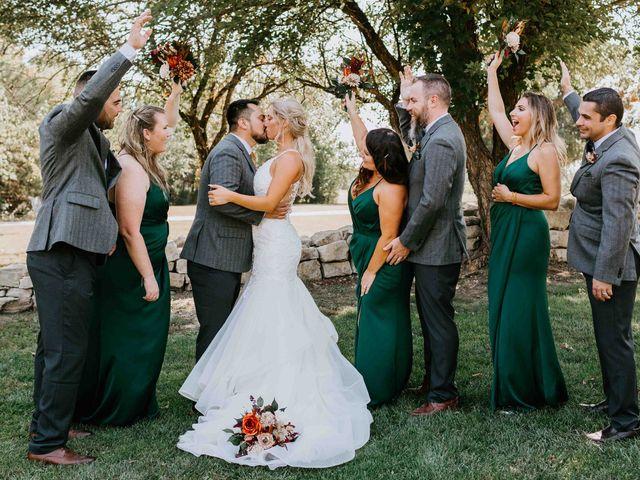 Stephanie and Rene's Wedding in Winfield, Kansas 206