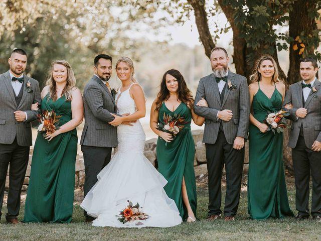 Stephanie and Rene's Wedding in Winfield, Kansas 207