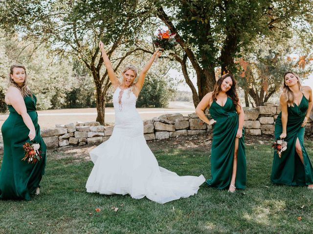 Stephanie and Rene's Wedding in Winfield, Kansas 210