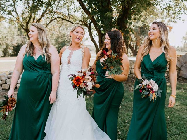 Stephanie and Rene's Wedding in Winfield, Kansas 214