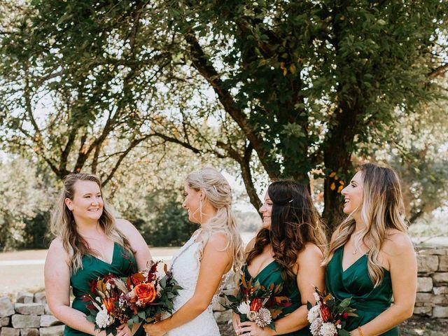Stephanie and Rene's Wedding in Winfield, Kansas 216