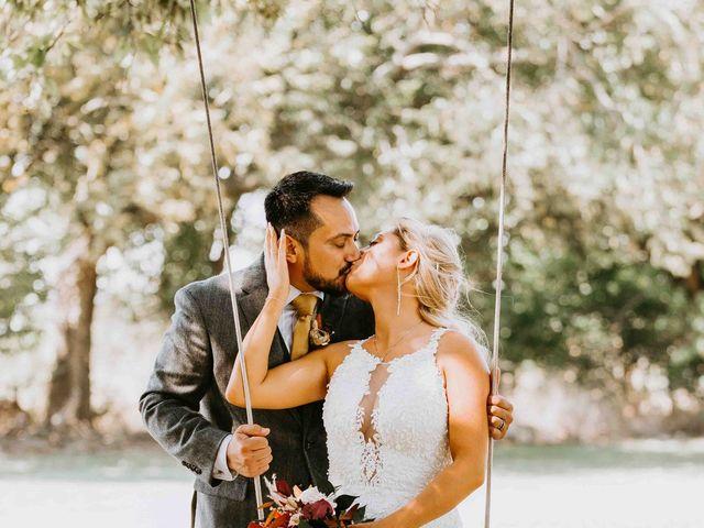 Stephanie and Rene's Wedding in Winfield, Kansas 218